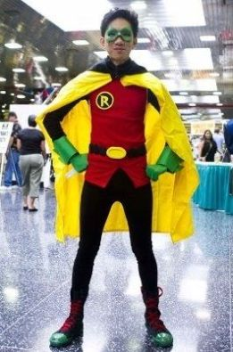 http://www.instructables.com/id/How-to-make-a-Batman-Robin-Damien-Wayne-costume/